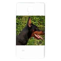 Doberman Pinscher Galaxy Note 4 Back Case