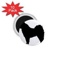 Eurasier Silo Black 1.75  Magnets (10 pack)