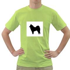 Eurasier Silo Black Green T-Shirt