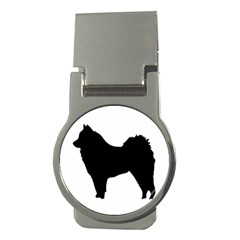 Eurasier Silo Black Money Clips (Round)