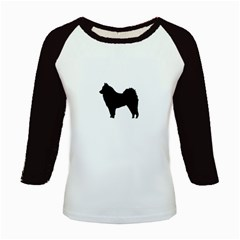 Eurasier Silo Black Kids Baseball Jerseys