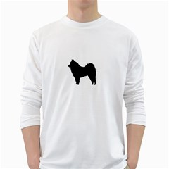 Eurasier Silo Black White Long Sleeve T-Shirts