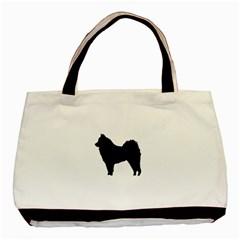 Eurasier Silo Black Basic Tote Bag