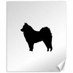 Eurasier Silo Black Canvas 8  x 10