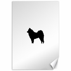 Eurasier Silo Black Canvas 12  x 18