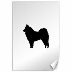 Eurasier Silo Black Canvas 24  x 36