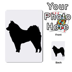 Eurasier Silo Black Multi-purpose Cards (Rectangle)
