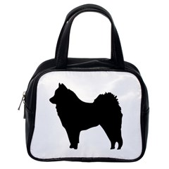 Eurasier Silo Black Classic Handbags (One Side)