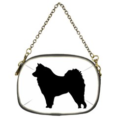 Eurasier Silo Black Chain Purses (Two Sides)