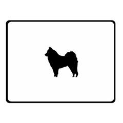 Eurasier Silo Black Fleece Blanket (Small)