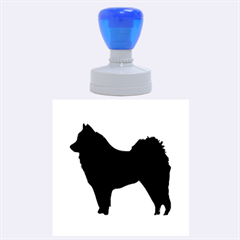 Eurasier Silo Black Rubber Round Stamps (Large)