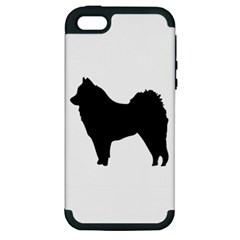 Eurasier Silo Black Apple iPhone 5 Hardshell Case (PC+Silicone)