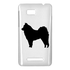 Eurasier Silo Black HTC One SU T528W Hardshell Case