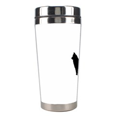 Eurasier Silo Black Stainless Steel Travel Tumblers
