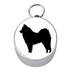 Eurasier Silo Black Mini Silver Compasses