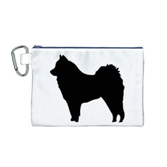 Eurasier Silo Black Canvas Cosmetic Bag (M)