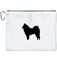 Eurasier Silo Black Canvas Cosmetic Bag (XXXL)