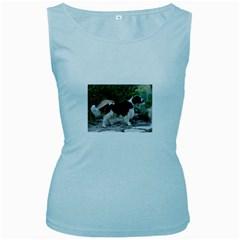 Welsh Springer Spaniel Full Women s Baby Blue Tank Top