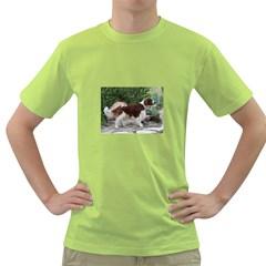 Welsh Springer Spaniel Full Green T-Shirt