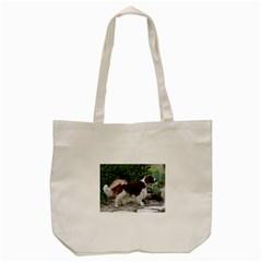 Welsh Springer Spaniel Full Tote Bag (Cream)