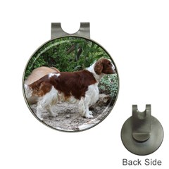 Welsh Springer Spaniel Full Hat Clips with Golf Markers
