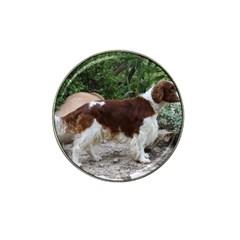 Welsh Springer Spaniel Full Hat Clip Ball Marker (4 pack)