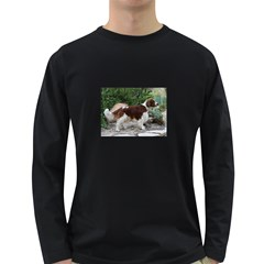 Welsh Springer Spaniel Full Long Sleeve Dark T-Shirts