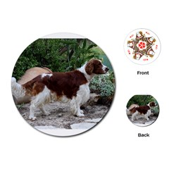 Welsh Springer Spaniel Full Playing Cards (Round)