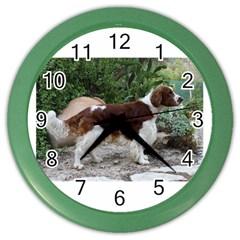 Welsh Springer Spaniel Full Color Wall Clocks