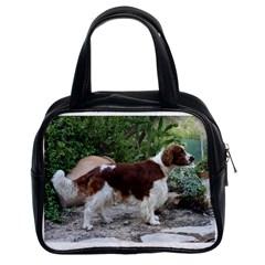 Welsh Springer Spaniel Full Classic Handbags (2 Sides)