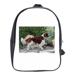 Welsh Springer Spaniel Full School Bags(Large)