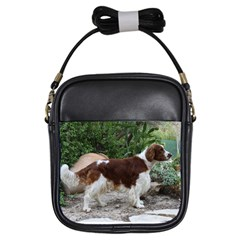 Welsh Springer Spaniel Full Girls Sling Bags
