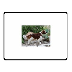 Welsh Springer Spaniel Full Fleece Blanket (Small)