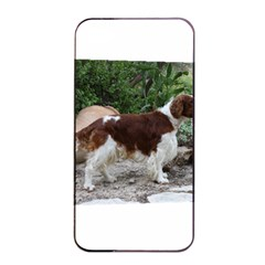 Welsh Springer Spaniel Full Apple iPhone 4/4s Seamless Case (Black)