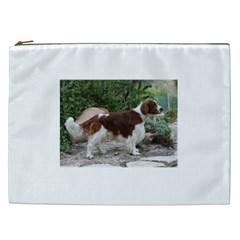 Welsh Springer Spaniel Full Cosmetic Bag (XXL)