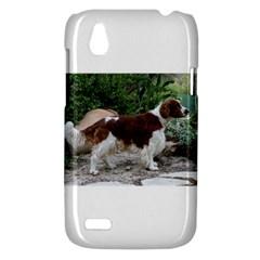 Welsh Springer Spaniel Full HTC Desire V (T328W) Hardshell Case