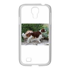 Welsh Springer Spaniel Full Samsung GALAXY S4 I9500/ I9505 Case (White)