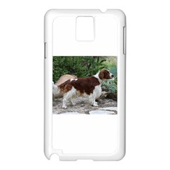 Welsh Springer Spaniel Full Samsung Galaxy Note 3 N9005 Case (White)