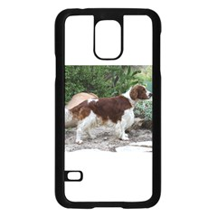 Welsh Springer Spaniel Full Samsung Galaxy S5 Case (Black)