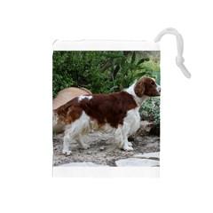 Welsh Springer Spaniel Full Drawstring Pouches (Medium)