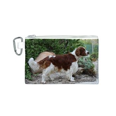 Welsh Springer Spaniel Full Canvas Cosmetic Bag (S)