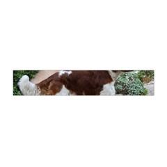 Welsh Springer Spaniel Full Flano Scarf (Mini)