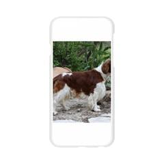 Welsh Springer Spaniel Full Apple Seamless iPhone 6/6S Case (Transparent)