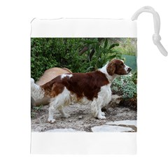 Welsh Springer Spaniel Full Drawstring Pouches (XXL)