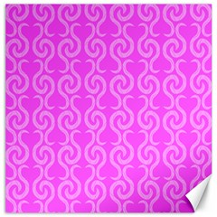 Pink elegant pattern Canvas 12  x 12