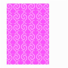 Pink elegant pattern Small Garden Flag (Two Sides)