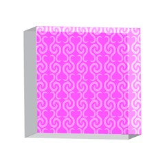 Pink elegant pattern 4 x 4  Acrylic Photo Blocks