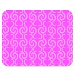Pink elegant pattern Double Sided Flano Blanket (Medium)