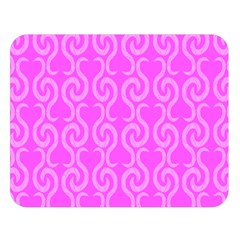 Pink elegant pattern Double Sided Flano Blanket (Large)