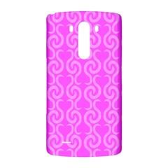 Pink elegant pattern LG G3 Back Case